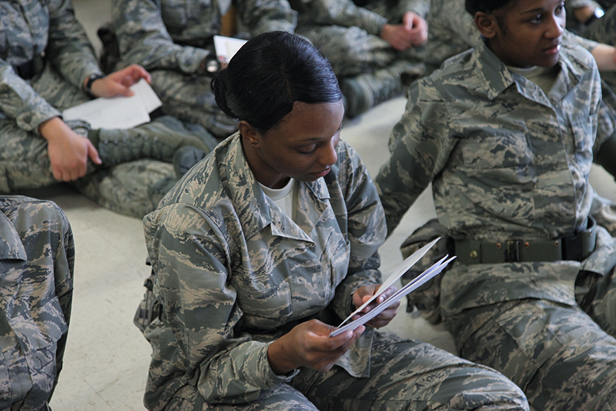 Contacting your Airman at BMT - AFEF